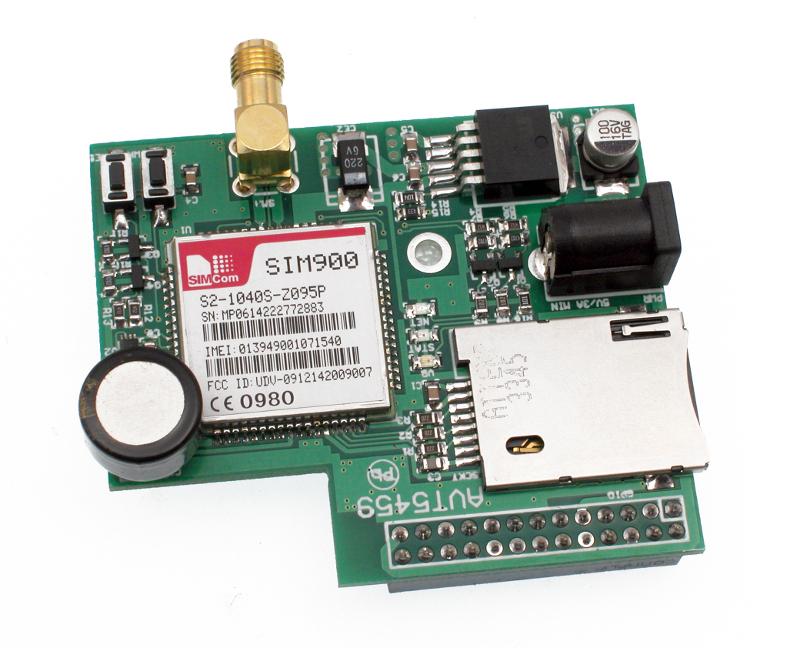 AVT5459B PŁYTKA Z MODEMEM GSM DLA RASPBERRY PI